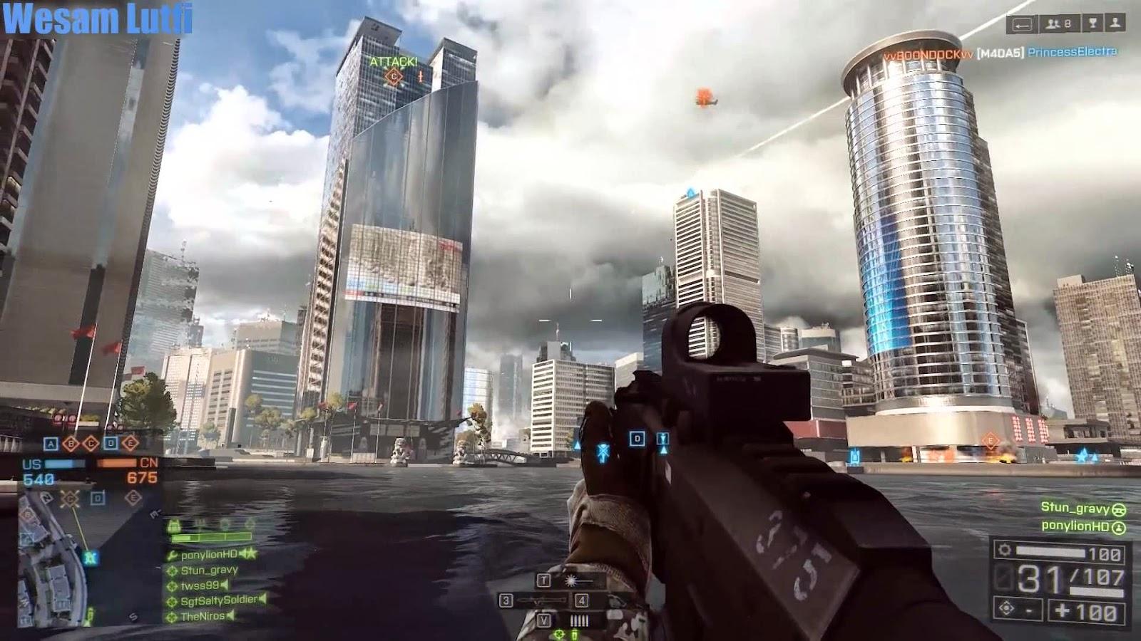 PCGameplay: Battlefield 4 Gameplay -by G Best