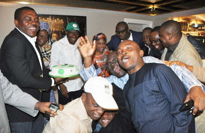 president jonathan victory afcon london
