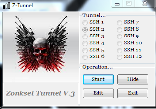 Cara Menggunakan Z-Tunnel Untuk Mempercepat Internet Gratis
