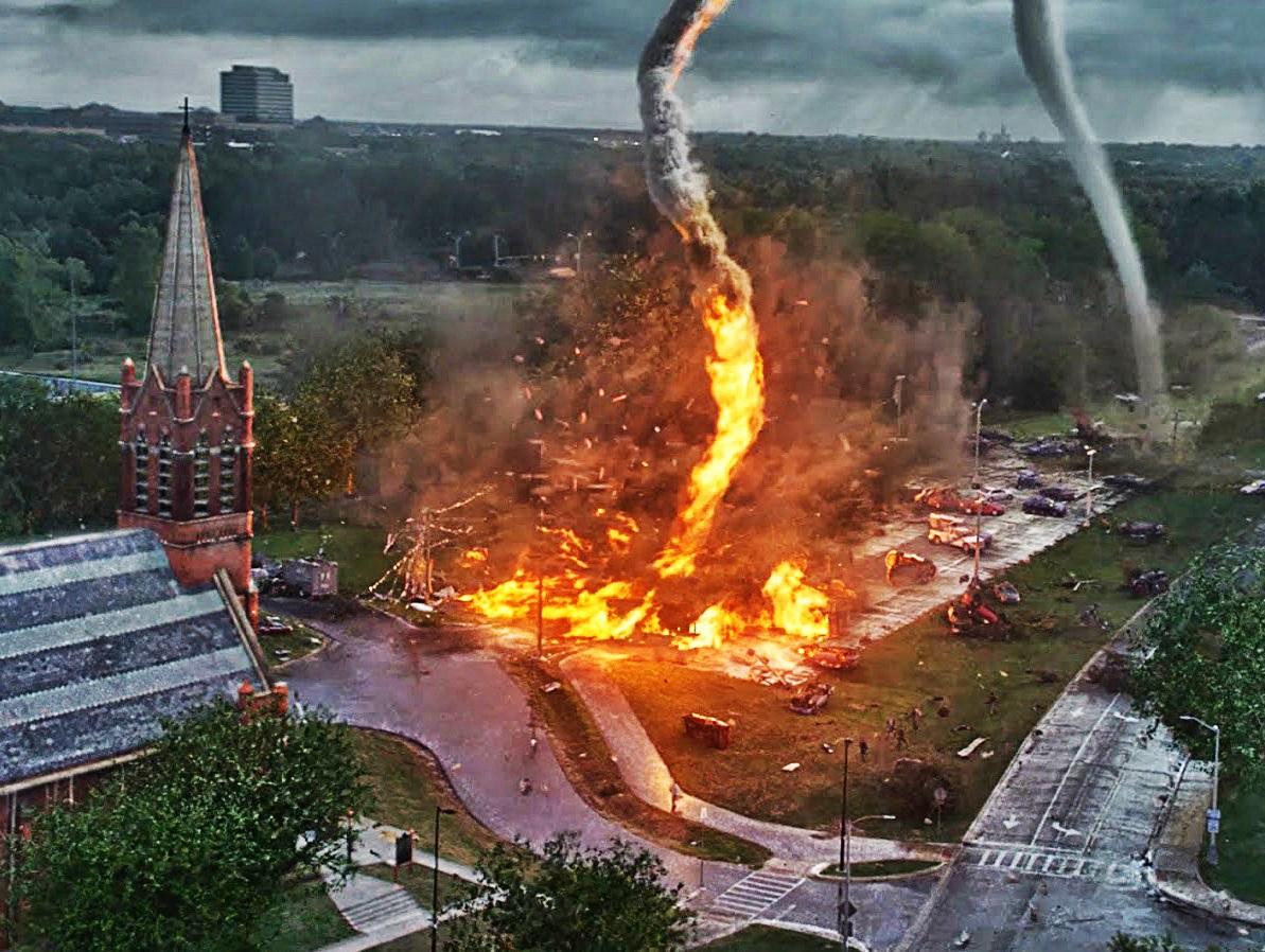 Los destructivos tornados de fuego