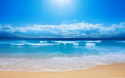 Ocean widescreen wallpaper