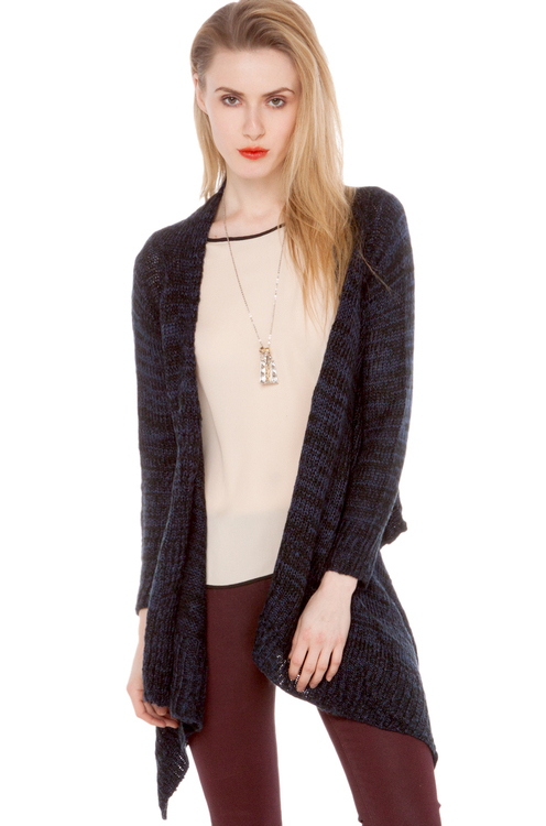 Knitted Scarf Cardigan