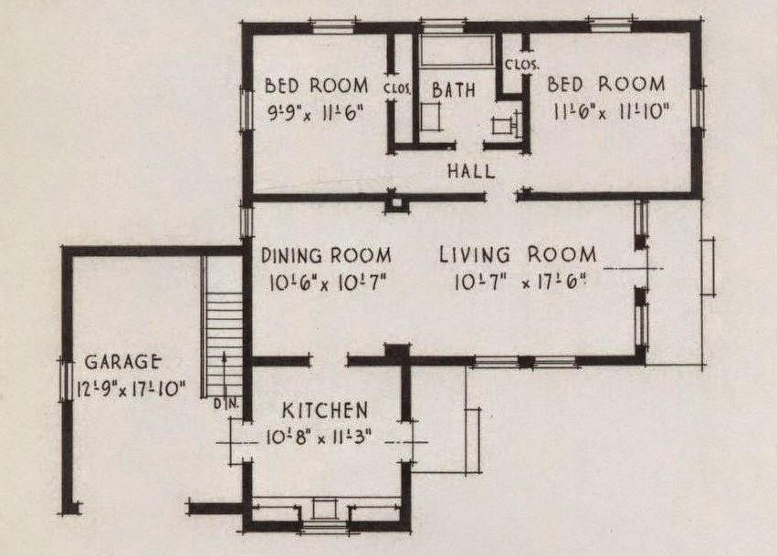 House Plans Art Deco House Plans