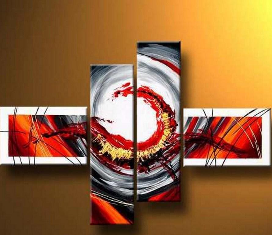 Cuadros pinturas oleos abstractos modernos decorativos for Imagenes de cuadros abstractos con acrilicos