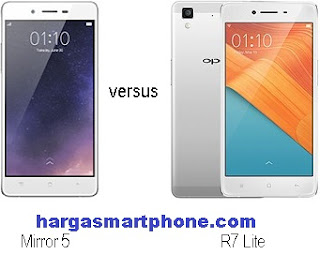 Harga dan Perbedaan OPPO Mirror 5 dengan R7 Lite