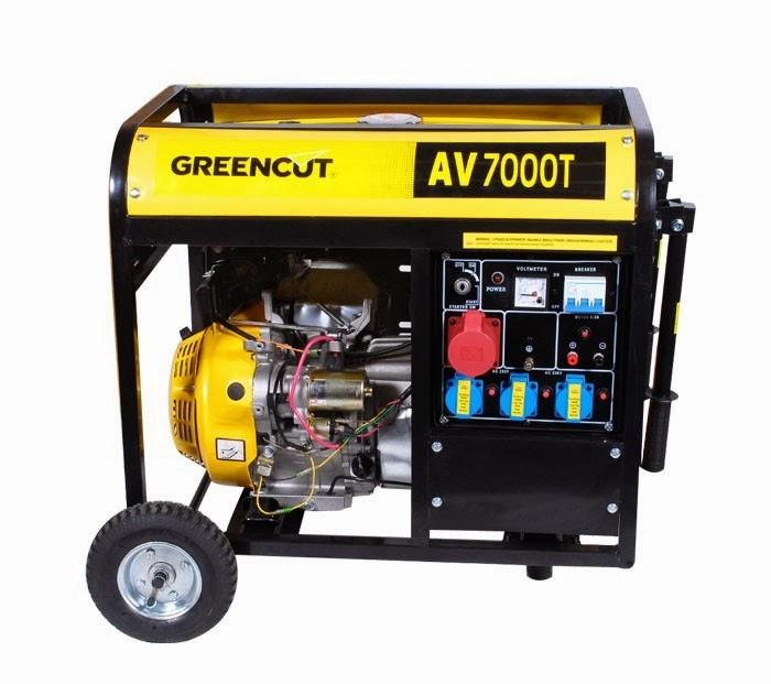 Maquinaria de jardineria generadores el ctricos - Generadores electricos de gasolina ...