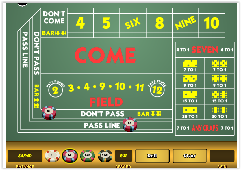 how to shoot craps and win
