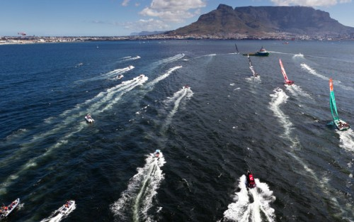 Volvo Ocean Race on Daily Boater