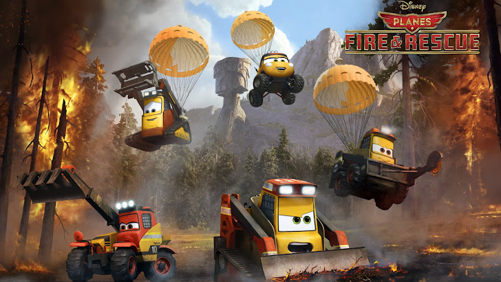 the smokejumpers drip, blackout, avalanche, dynamite, pinecone planes fire and rescue