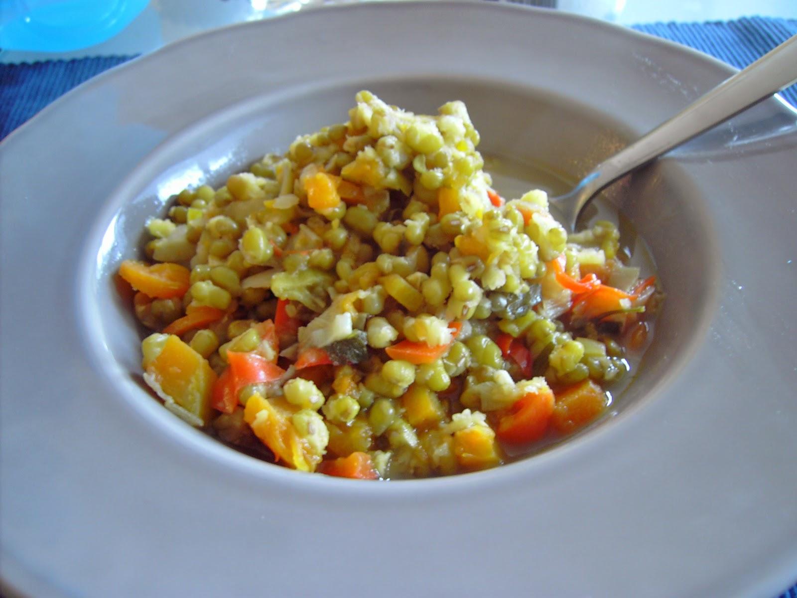 judias mungo estofadas con verduras