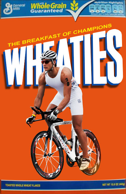 Parker Gregory on a Wheaties Box