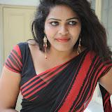 Sitara Hot Photos in Saree at Gundello Guchi Guchi Champake Movie Press Meet 102