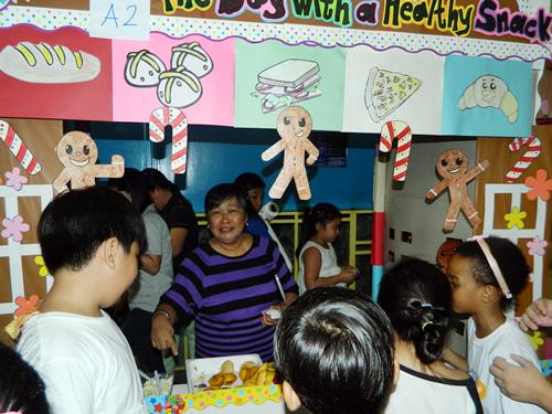 nutrition month, nutrition month activity, costumes, healthy snacks, decorations