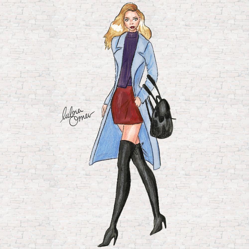 fashion illustration elle vox