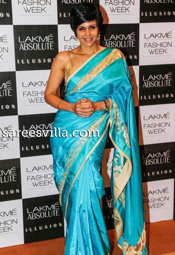 Mandira Bedi At Lakme Fashion Week Press Conference