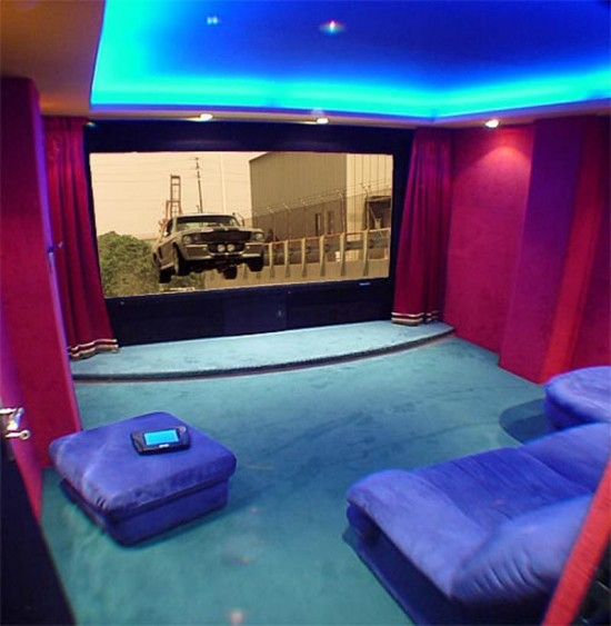 Carol Brechzin Home: Tips For Home Theater Room Design Ideas