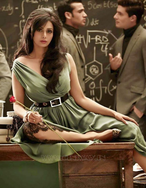 Sridevi's Photoshoot for Vogue Magazine