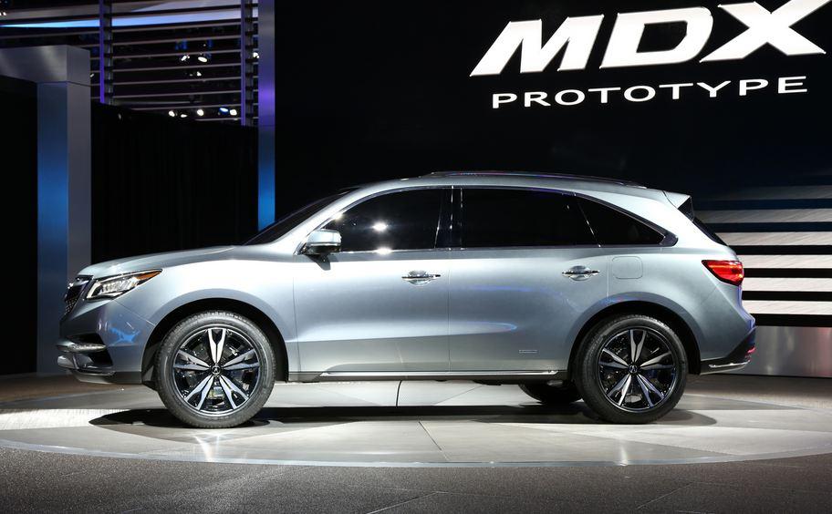 4x4 Acura - Acura MDX - acura suv cars
