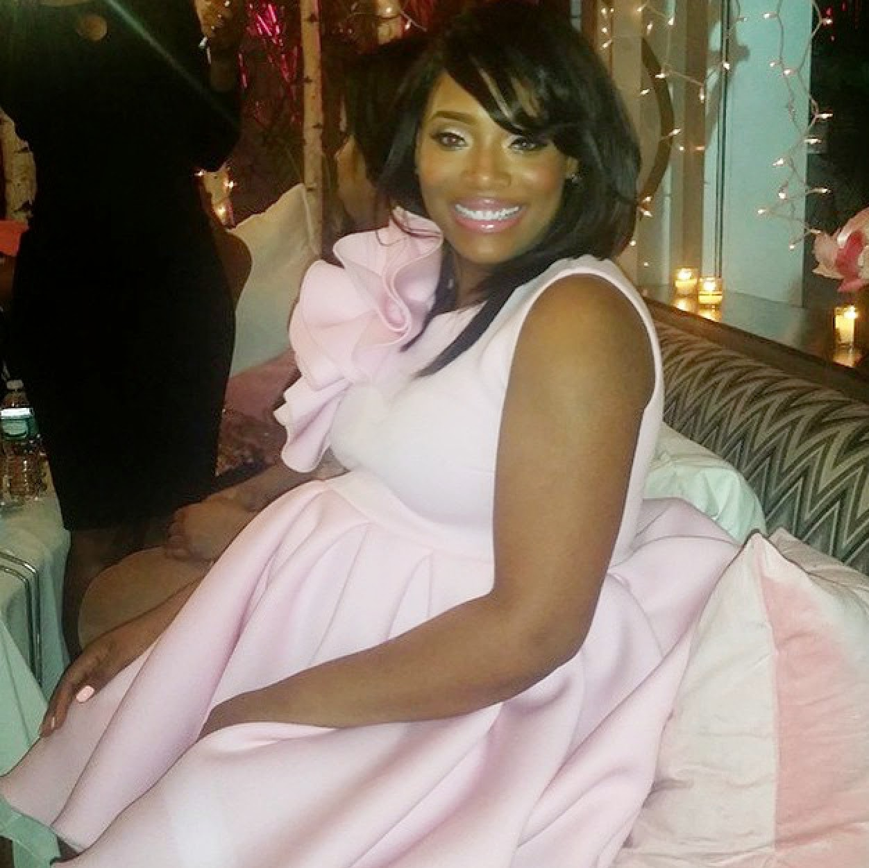 yandy smith baby shower