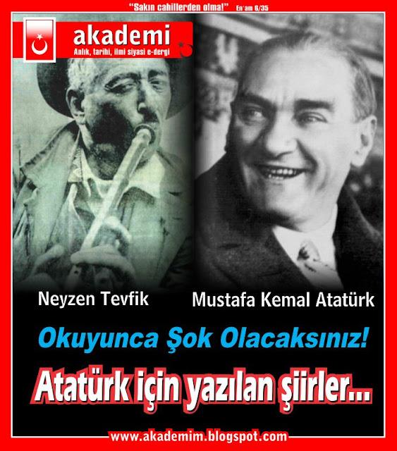 Okuyunca şok olacaksınız... Mustafa Kemal Atatürk için yazılan şiirler...
