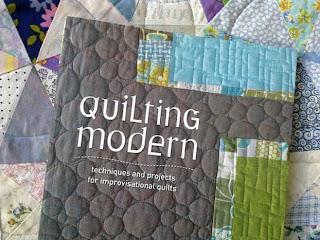 Quilting Modern -kirjan kansikuva