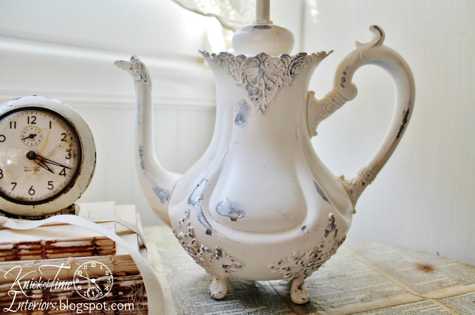 Teapot Lamp Makeover