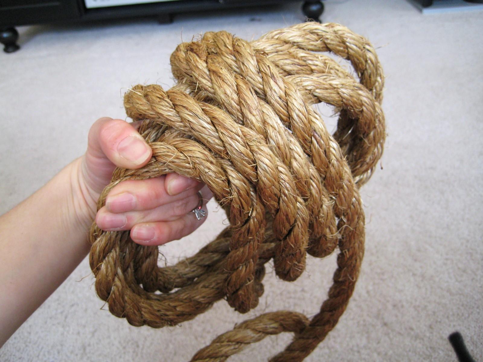 Поделки из веревки и ниток