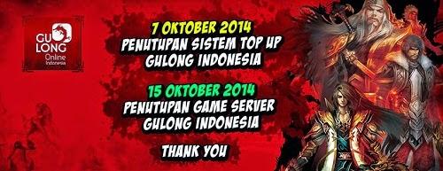 penutupan layanan gulong online server indonesia