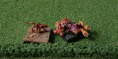 Skaven 074406/14 Wounded Skaven Casualty Old