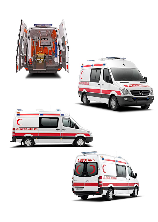 Mercedes Ticari (Ambulance)