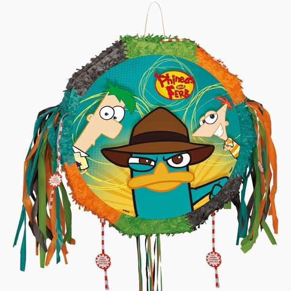 Piñatas de Phineas y Ferb, parte 1