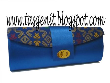 Clutch Bag  Tas Pesta Batik Bali Biru (TERJUAL KODE 950) badff08119