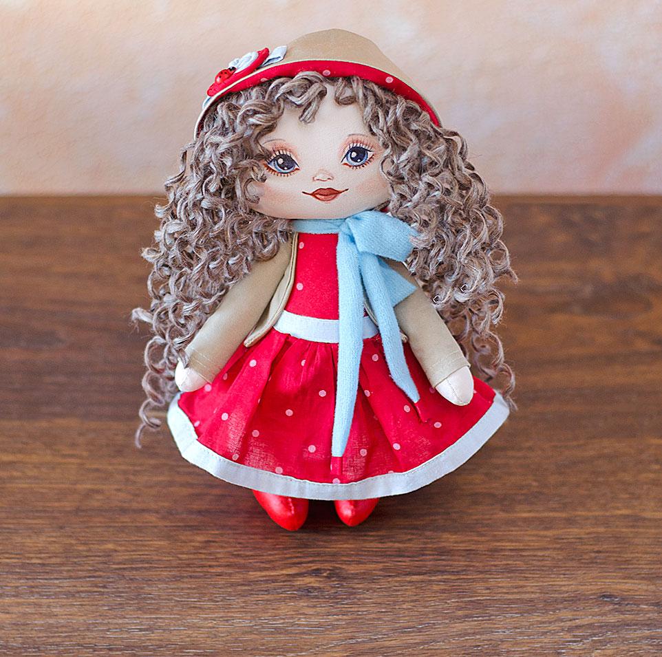 кукла, текстильная кукла, авторская кукла, игрушка, Буслова Евгения