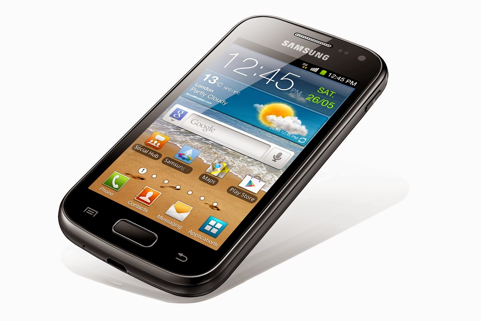 how to delete a voicemail on samsung galaxy ace