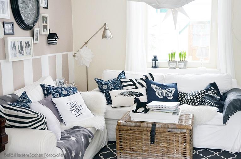 Ikea, Hell, Wohnzimmer, Weiß, Interieur, Blog