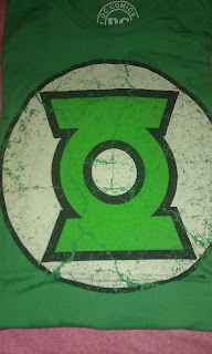 Camiseta de Linterna Verde