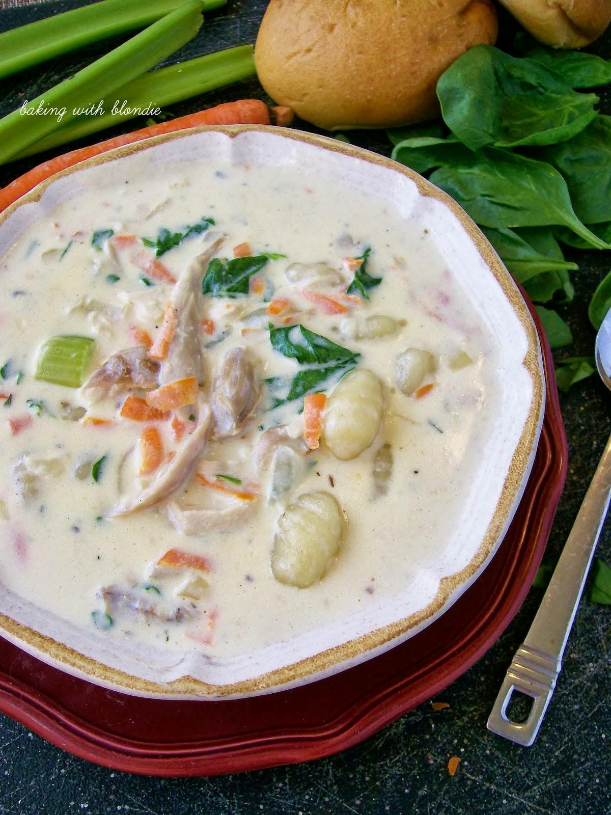 Baking With Blondie Olive Garden 39 S Chicken Gnocchi Soup