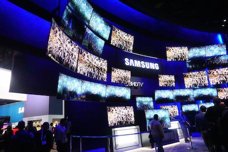 CES 2015: Cận cảnh loạt sản phẩm của Samsung