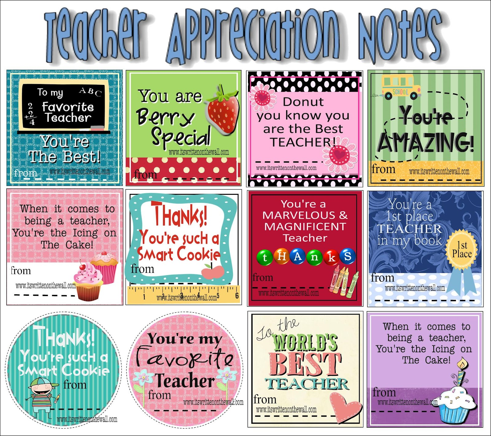 Teacher Appreciation Quotes With Candy. QuotesGram