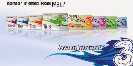 Cara Daftar Paket Internet 3 Paling Lengkap