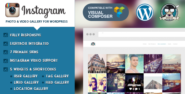 Instagram Photo & Video Gallery WordPress v2.2.1