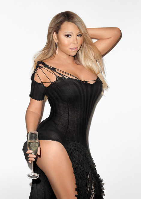 Mariah Carey by Terry Richardson for Wonderland