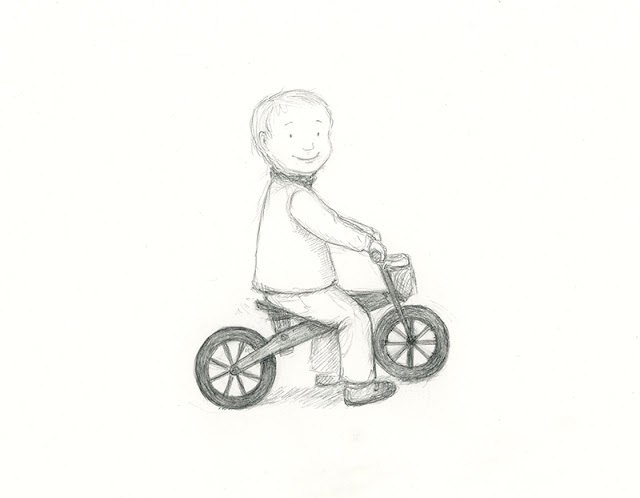 wooden balance bike - yara dutra firmino