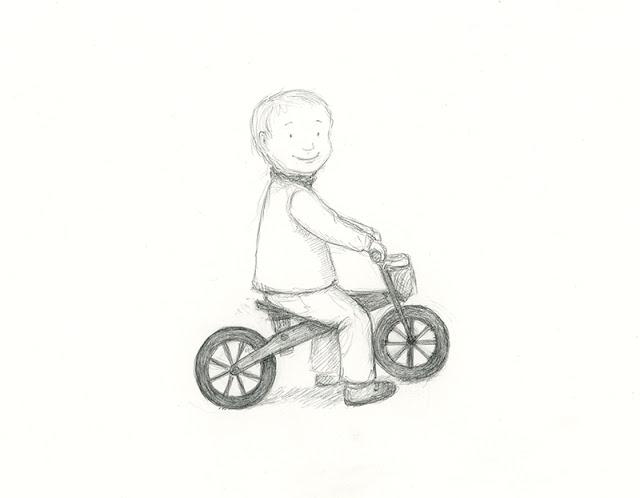 wooden balance bike - yara dutra firmino