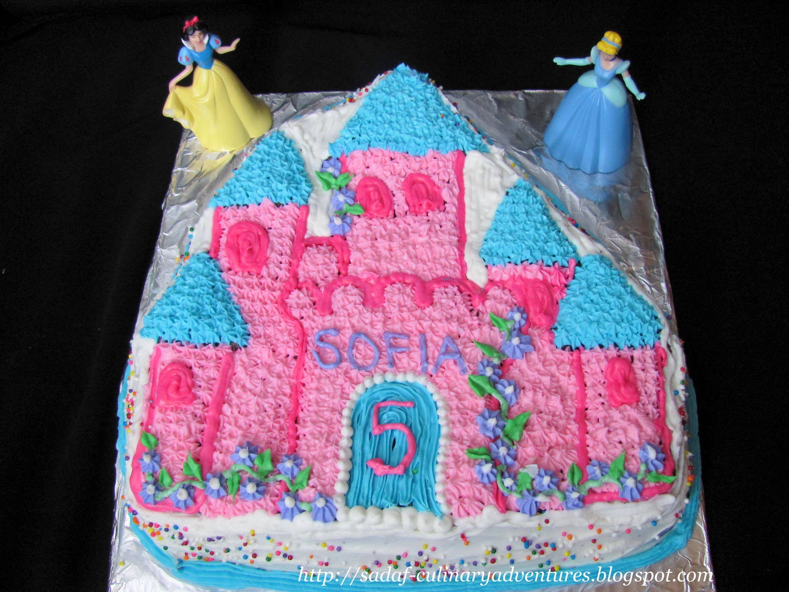 Enchanted Castle Cake My Culinary Adventures
