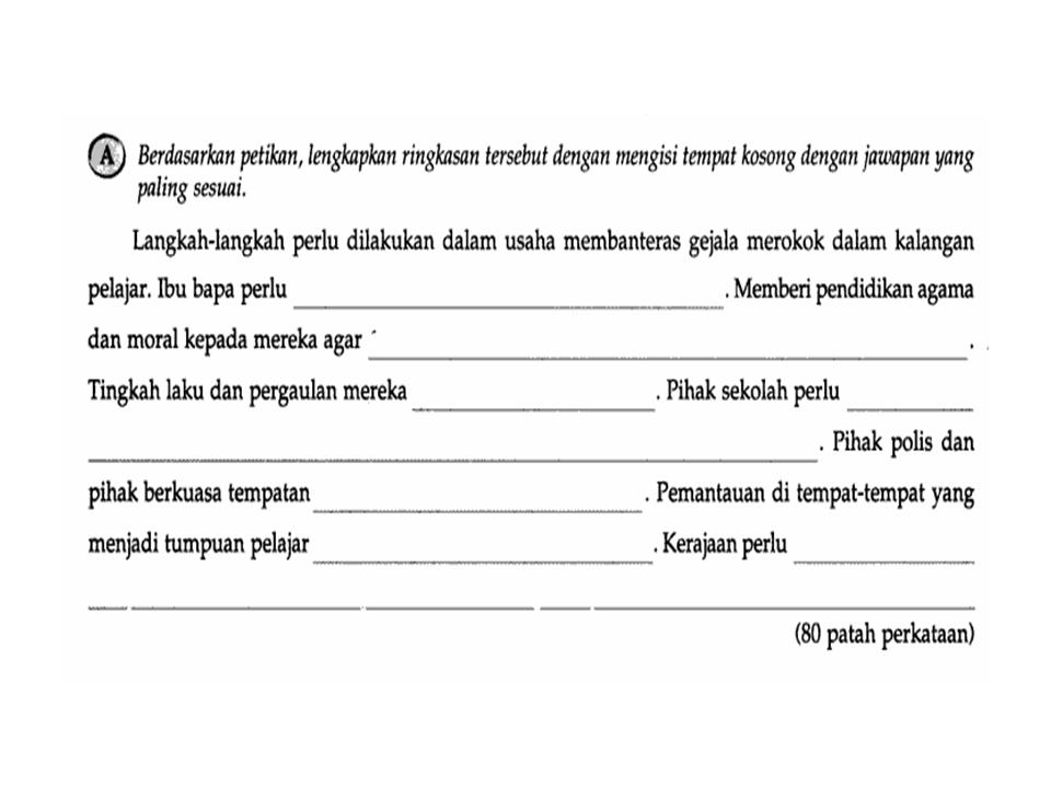Bahasa Melayu Tingkatan 2