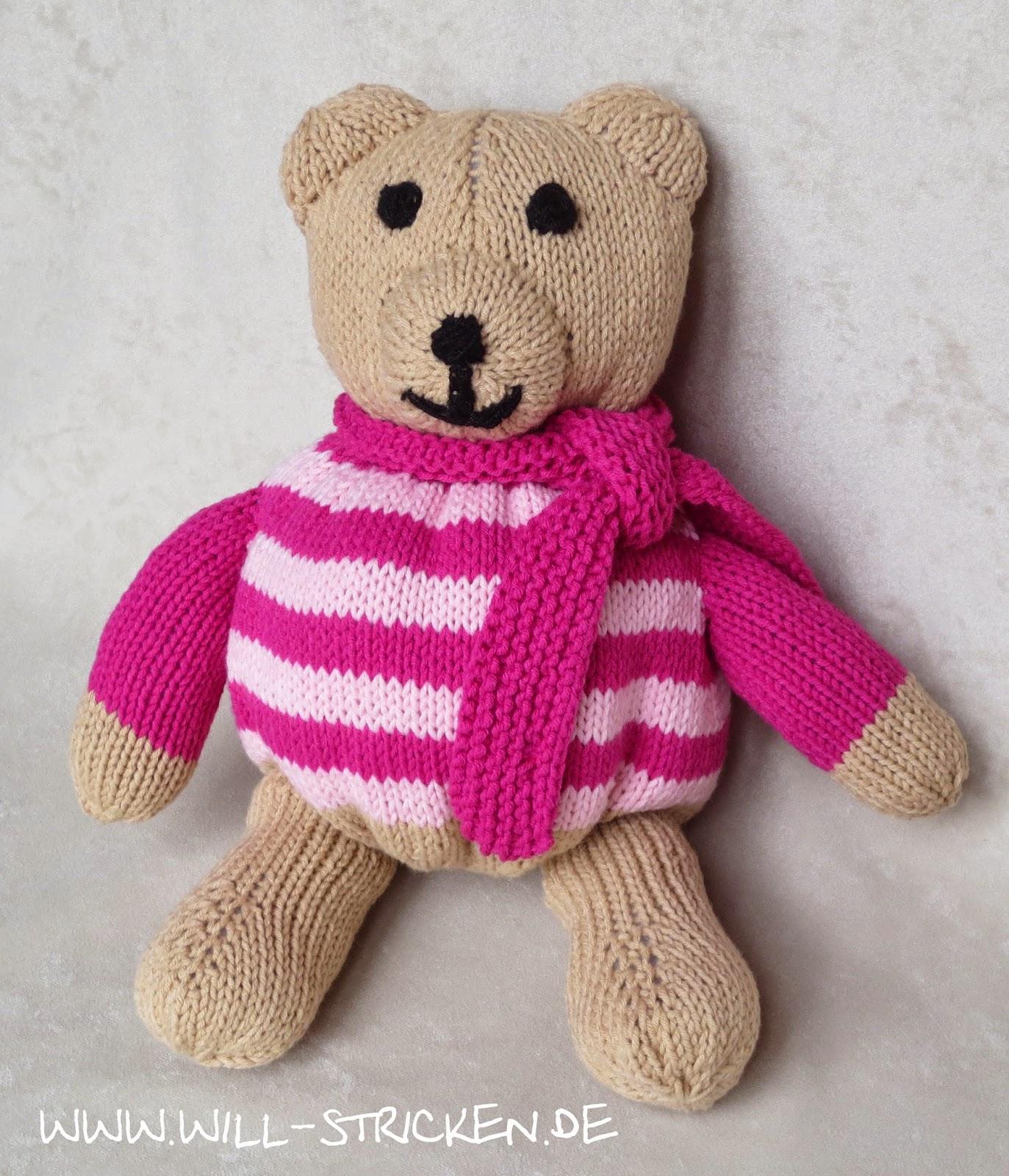 Teddy für Mädchen stricken