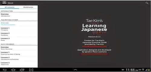 Belajar kanji dan bahasa jepang Android