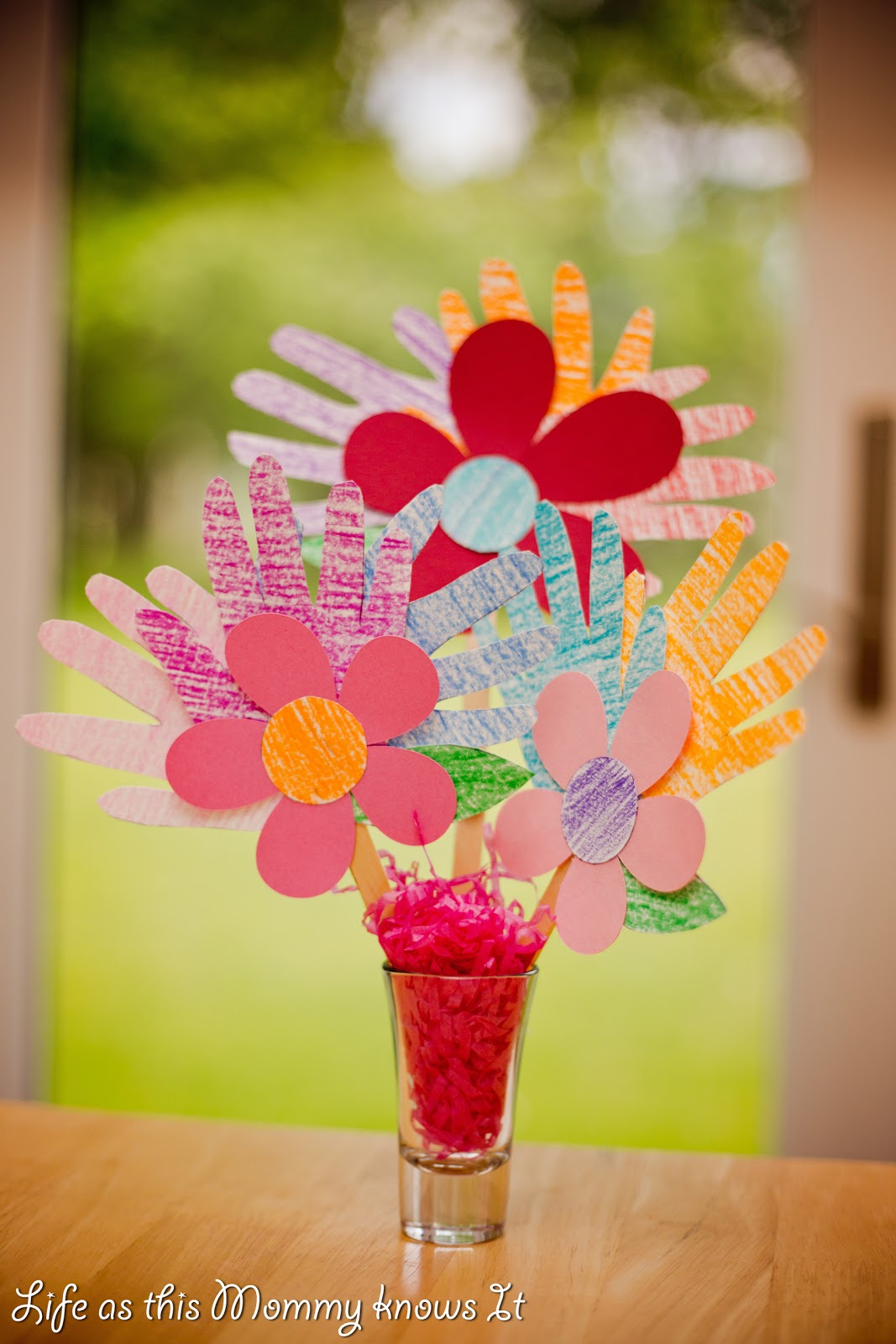 Life as this Mommy knows It: April Showers bring... May {Hand Print ...
