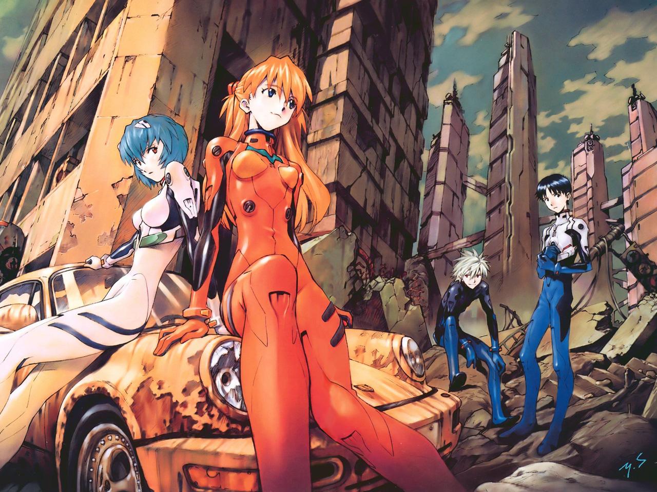 ¿Anime favorito? Neon+Genesis+Evangelion+2